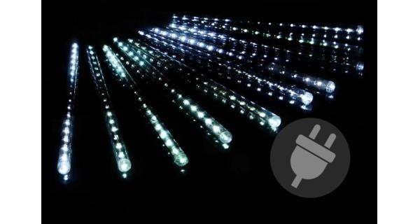 LED osvětlení - vodopádový efekt - studená bílá