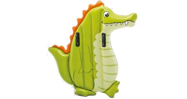 Lehátko nafukovací zvířátko - krokodýl