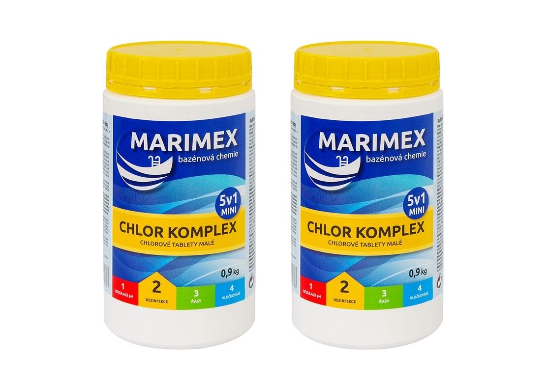 Marimex Marimex Chlor Komplex Mini 5v1 0,9kg - sada 2 ks - 19900048