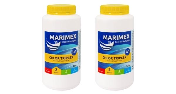 Marimex Chlor Triplex 3v1 1,6 kg - 2 ks