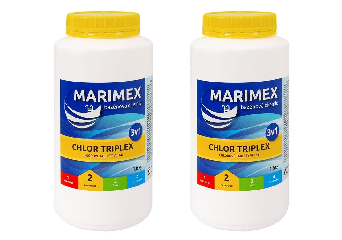 Marimex Marimex Chlor Triplex 3v1 1,6 kg - 2 ks - 19900063
