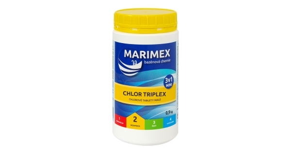 Marimex Chlor Triplex MINI 3v1 0,9 kg