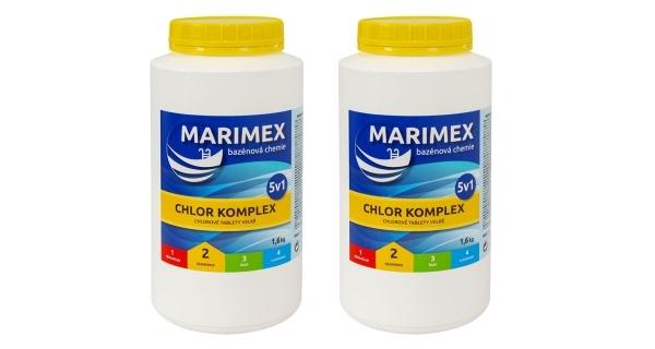 Marimex Komplex 5v1 1,6 kg - sada 2 ks