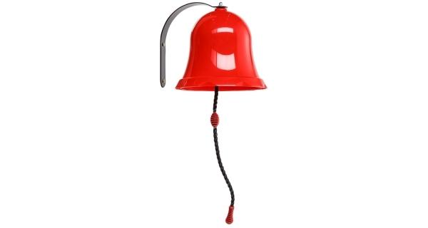 Marimex Play Zvonec - červený