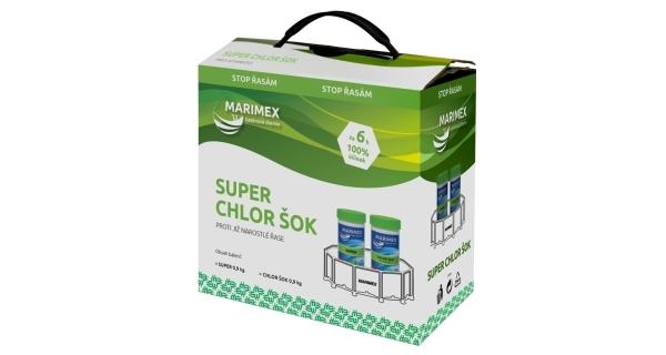 Marimex Super Chlor Šok 2x 0,9 kg