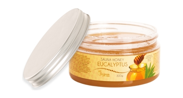 Med do sauny - vůně eukalyptu