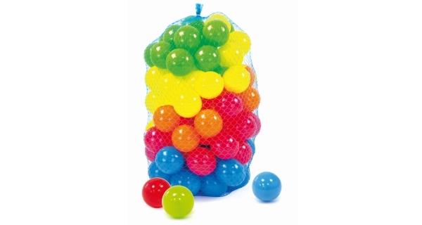 Míčky plastové - 200 ks
