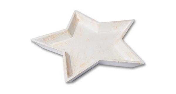 Miska hvězda - béžová