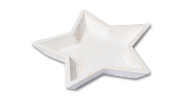 Miska hvězda - krémová