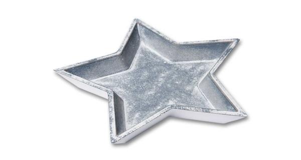 Miska hvězda - šedá