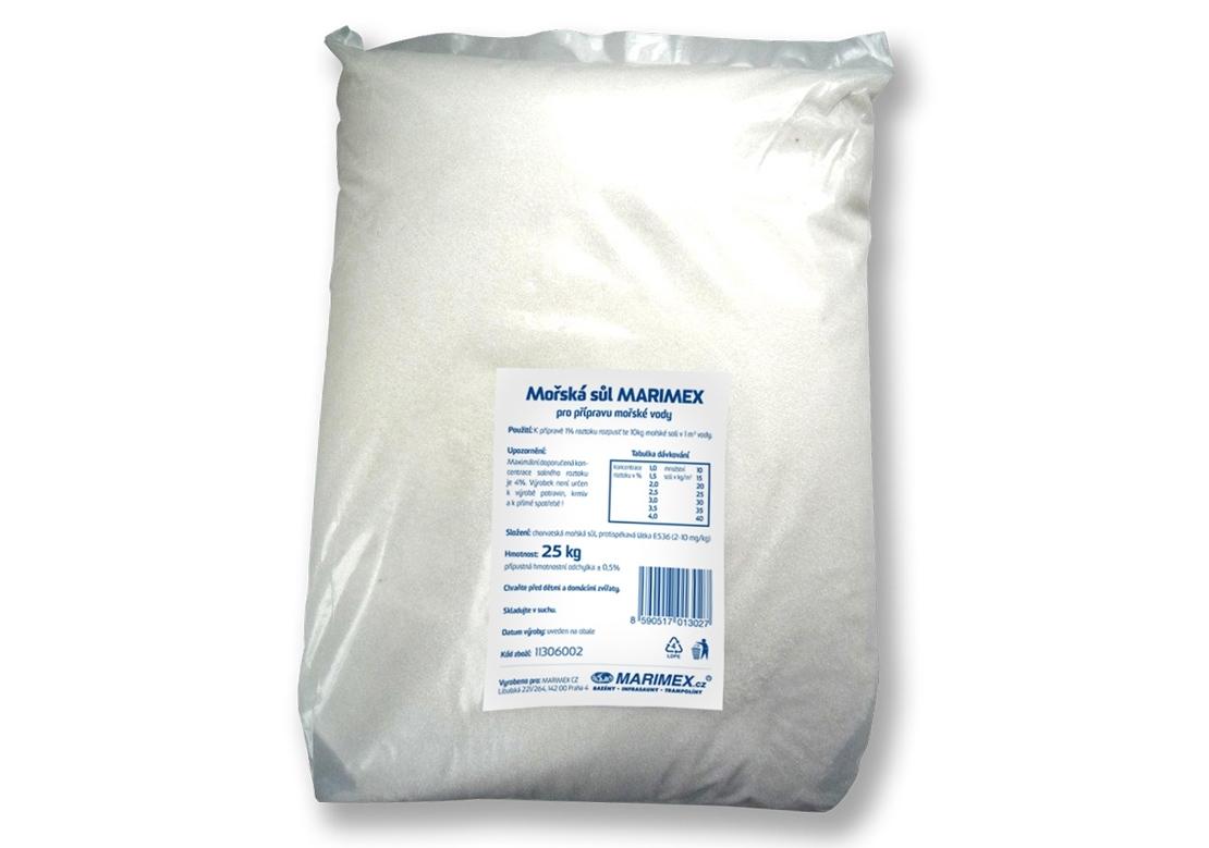 Marimex Mořská sůl - 25 kg - 11306002