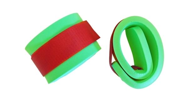 Nadlehčovací rukávky na suchý zip - zelená