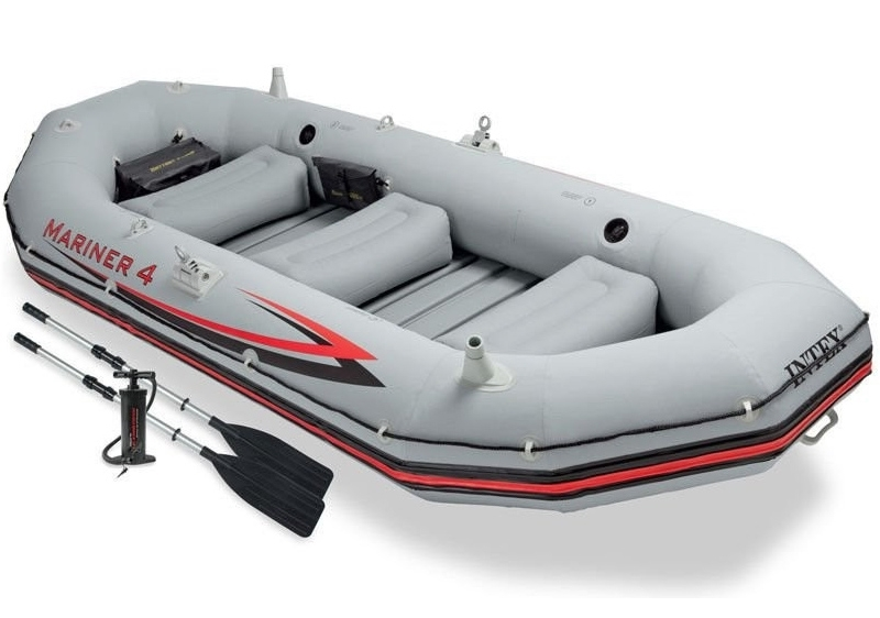 Intex Nafukovací člun Intex Mariner 4 Set - 11630167