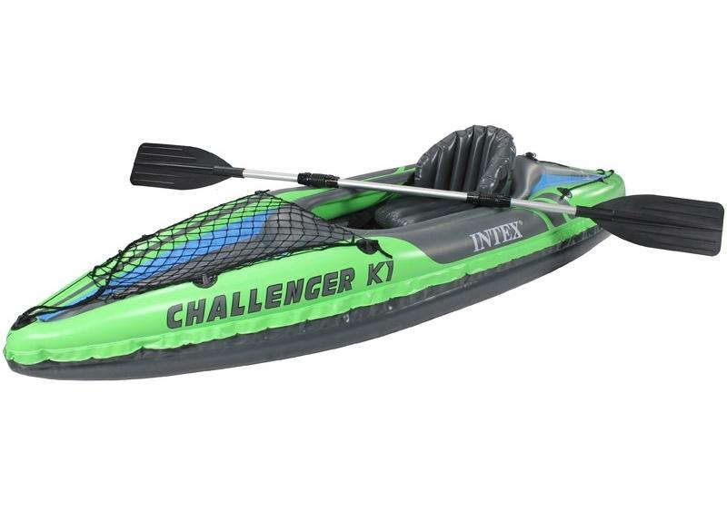 Intex Nafukovací kajak Intex Challenger K1 - 11630169