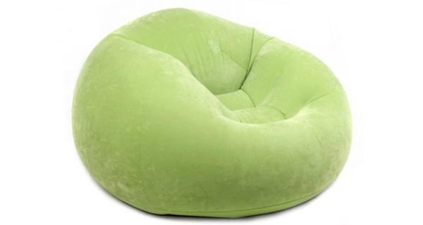 Nafukovací křeslo Intex - zelené