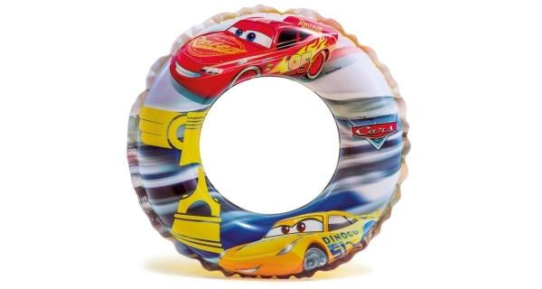 Nafukovací kruh 51 cm - auta
