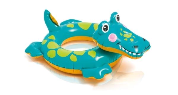 Nafukovací kruh 56 cm - krokodýl
