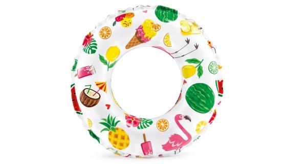 Nafukovací kruh Color 51 cm - summer time