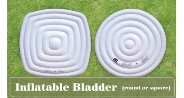 Nafukovací kryt k vířivkám Mspa - pro kruhové vany pro 4 osoby
