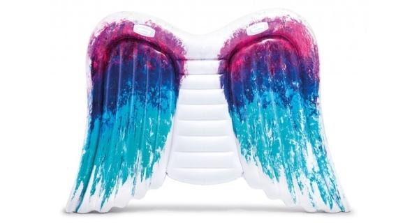 Nafukovací lehátko - andělská křídla