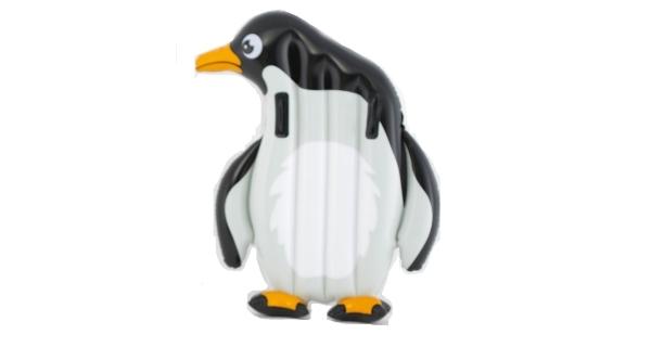 Nafukovací lehátko - tučňák