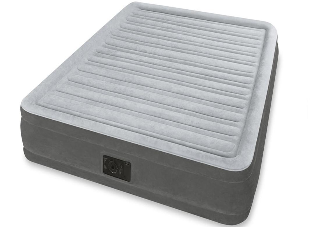 Intex Nafukovací postel DURA BEAM 152 x 203 x 33 cm