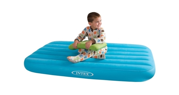 Nafukovací postel Intex Cozy Kidz - modrá