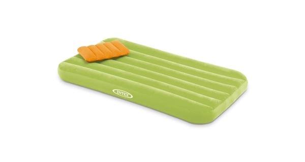 Nafukovací postel Intex Cozy Kidz - zelená