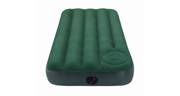 Nafukovací postel Intex Downy Twin Cot