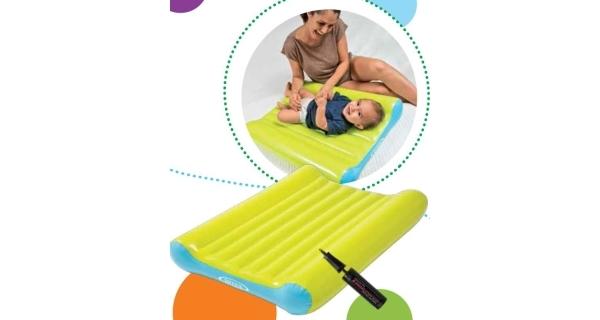 Nafukovací přebalovací podložka Intex Baby