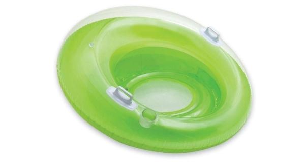 Nafukovací sedátko do vody - zelené