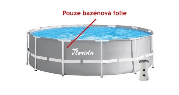 Náhradní folie pro bazén Florida 3,66 x 0,99 m (PRISM - šedá)