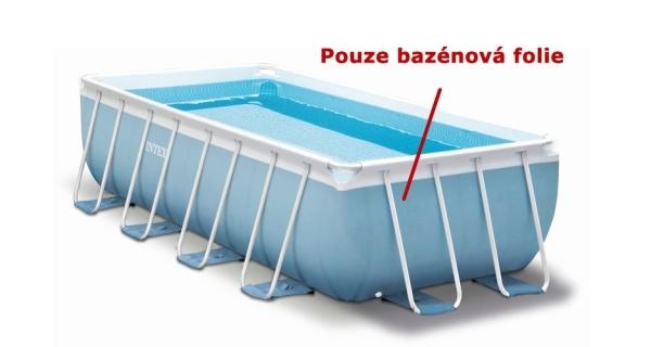 Náhradní folie pro bazén Tahiti/Florida Premium 2,0 x 4,0 x 1,0 m - šedomodrá