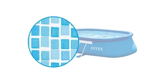 Náhradní folie pro bazén Tampa ovál 3,05 x 5,49 x 1,07 m