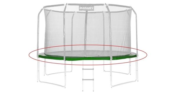 Náhradní kryt pružin pro trampolínu Marimex 366 cm - zelený