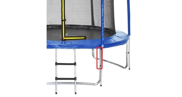 Náhradní nástavec na nohu pro trampolínu Marimex 366 cm a větší