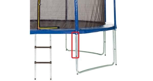 Náhradní nástavec na nohu pro trampolínu Marimex 366 cm - model 2016