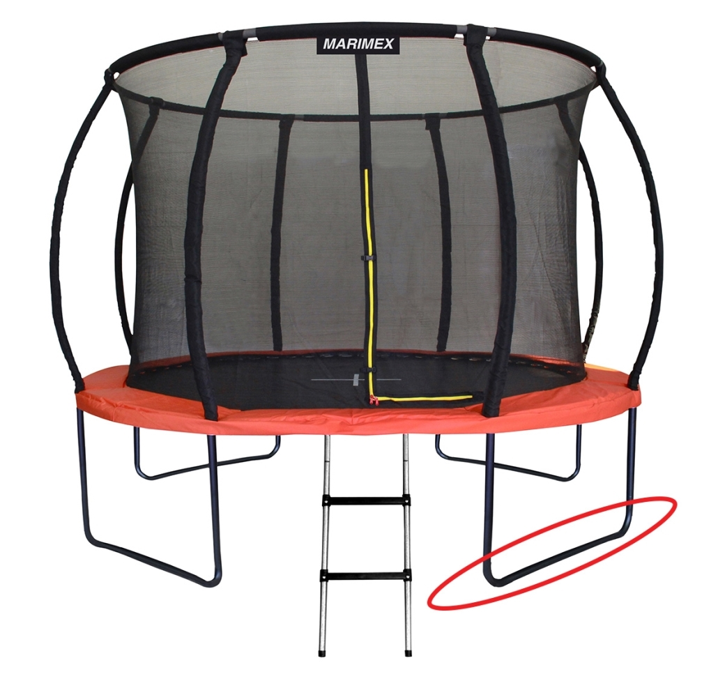 Marimex Náhradní noha ve tvaru U pro trampolínu Marimex Premium 366 cm - 19000746