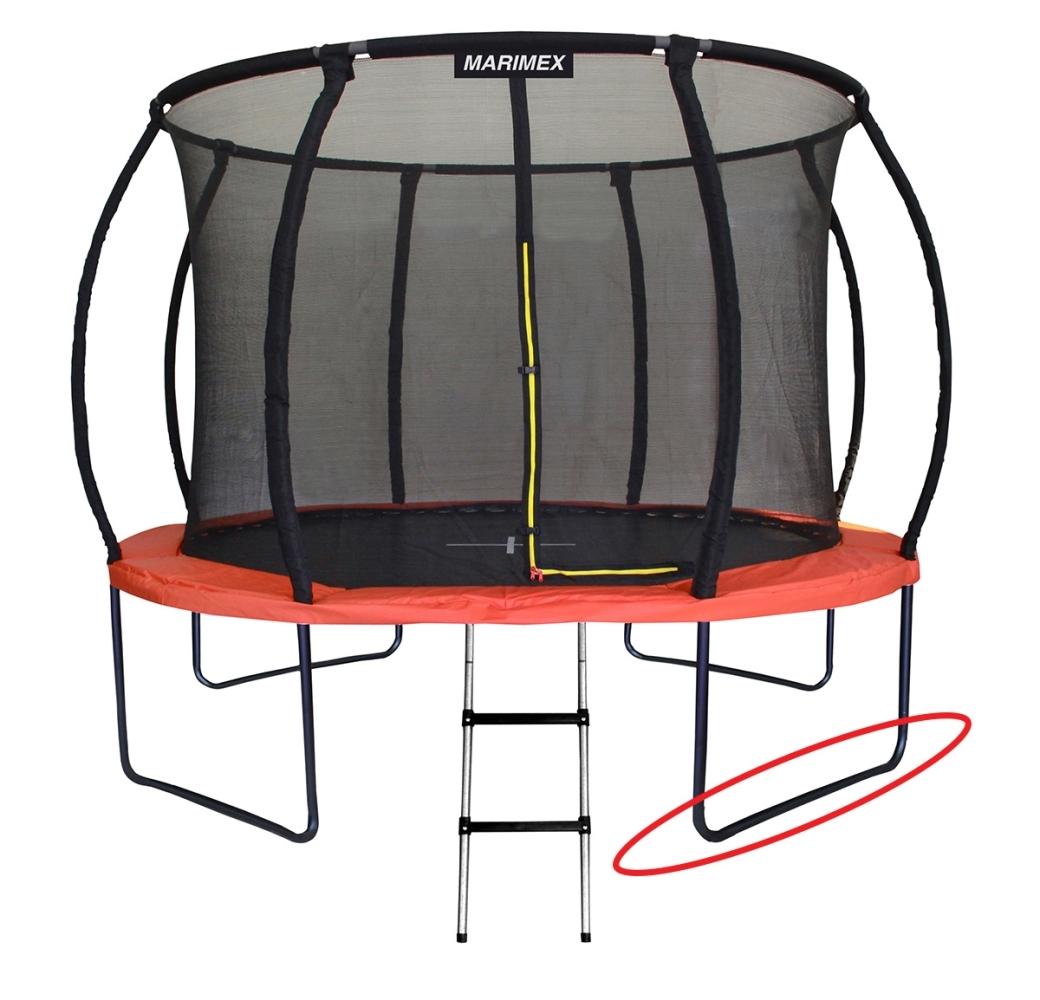Marimex Náhradní noha ve tvaru U pro trampolínu Marimex Premium 457 cm - 19000752