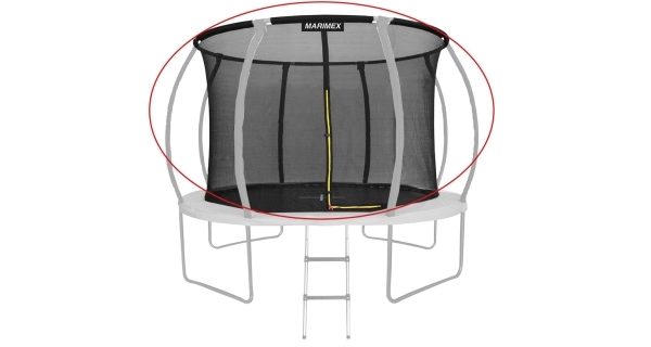 Náhradní ochranná síť pro trampolínu Marimex Premium a Premium in-ground 366 cm