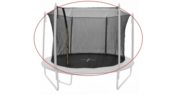Náhradní ochranná síť pro trampolínu Marimex Smart 305 cm skládací