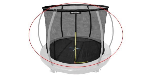 Náhradní ochranná síť pro trampolínu Premium  in-ground 305 cm