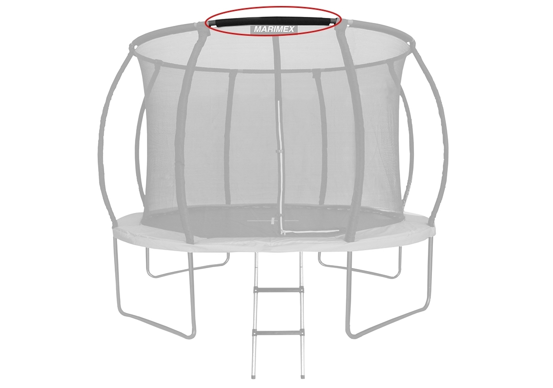 Marimex Náhradní trubka horní obruče pro trampolínu Marimex Premium 366 cm - 19000749