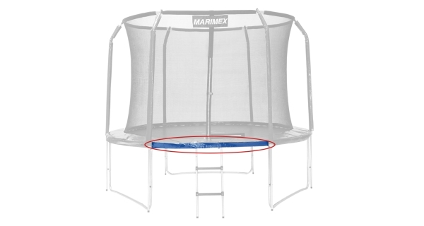 Náhradní trubka rámu pro trampolínu Marimex 457 cm - 143,8 cm