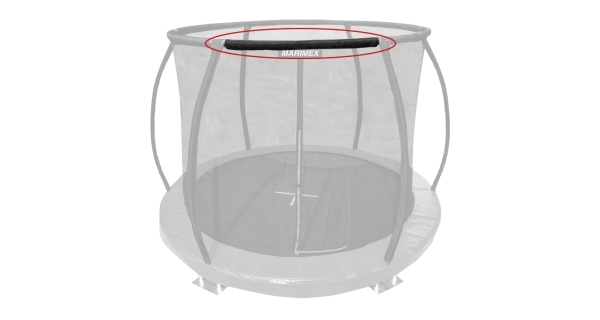 Náhradní tyč obruče pro trampolínu Marimex 305 cm Premium in-ground - 123,5 cm