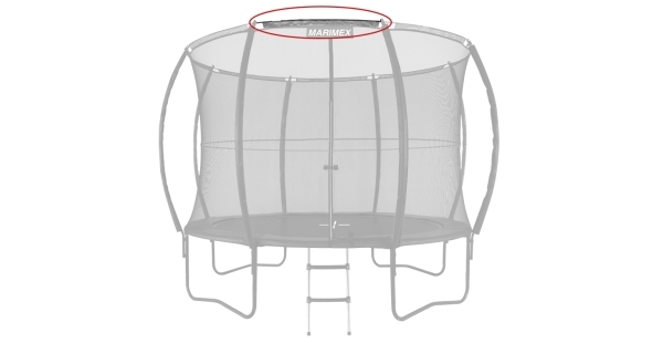 Náhradní tyč obruče pro trampolínu Marimex 366 cm Comfort - 110 cm