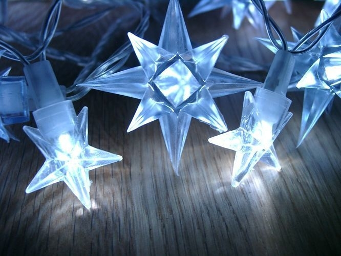 Osvětlení vánoční - Hvězdy modré - 4m - 18000049