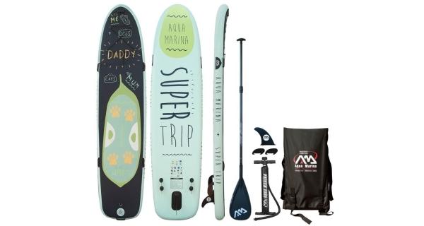 Paddle board  AQUA MARINA SUPER TRIP + karbonové pádlo ZDARMA