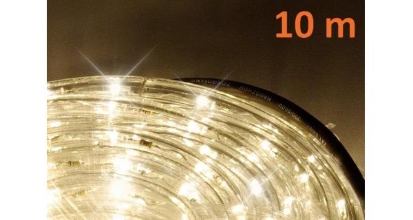 Pásek LED 10 m - 240 diod - teplá bílá