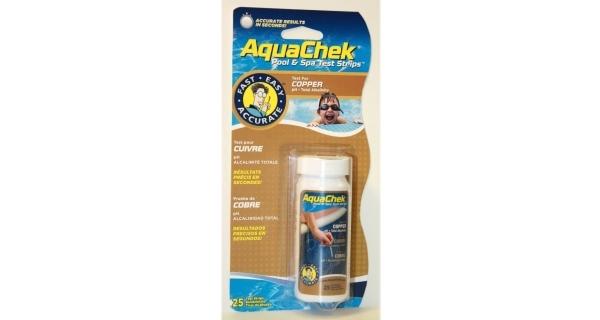 Pásky testovací AquaChek 3v1 - měď, pH, celková alkalita